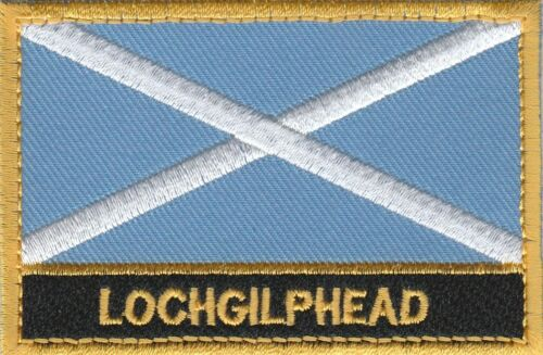 Lochgilphead Scotland Town /& City Embroidered Sew on Patch Badge