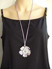 PILGRIM Kette Halskette, Collier, Schmuck, Modeschmuck, große Blüte.