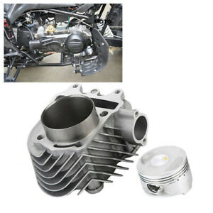 Cylinder-And-Head-61mm-Alloy-Big-Bore-Kit-GY6-150cc-Scooters-Mopeds-PerformancGD