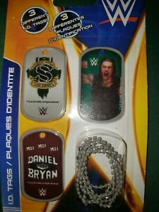 WWE ID Dog Tags Forever Clever (2014) Wrestling 3-Pack - (Sheamus / Daniel Bryan