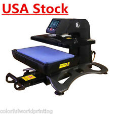 USA Stock! ST420 Auto Pneumatic 3D Sublimation Vacuum Heat Press Machine