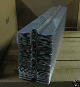 "2' Radiant Heat Transfer Plates for 1/2""  pex tubing"