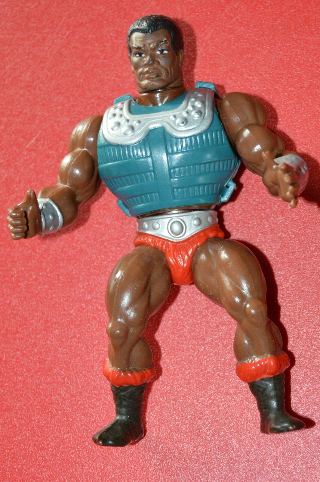 MOTU, Clamp Champ, Masters Masters Masters of the Universe, figure, with armor, vintage, He-Man 4ef011