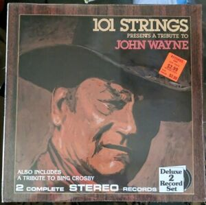 101-Strings-Presents-Tribute-To-John-Wayne-Two-Record-Set-Alshire-S-5371-sealed