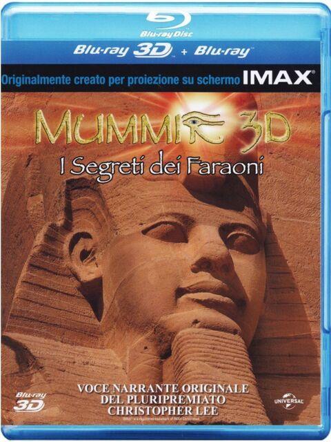 MUMMIE 3D (BLU-RAY 3D + 2D) DOCUMENTARIO UNIVERSAL 3D