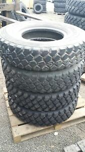 Set-of-4-tires-Michelin-XZL-11-00R20-Clearence