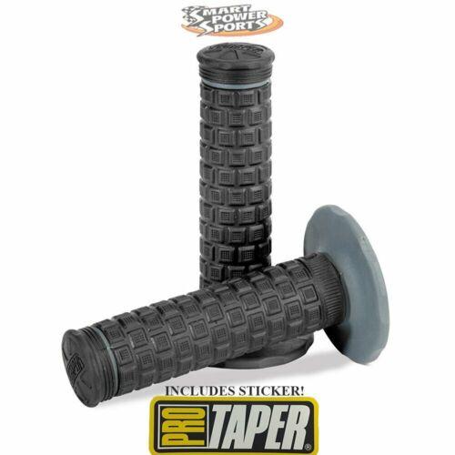 Pro Taper Pillow Top Lite Motocross Dirt Grip BLACK//BLACK INCLUDES STICKER!