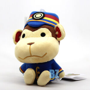 "GENUINE Porter Stuffed Plush 7"" Animal Crossing Little Buddy 1304"