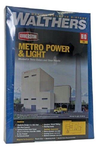 Walthers # 4052  Metro Power & Light Kit  HO MIB