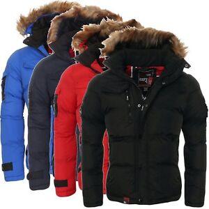 Sonderpreis für Qualität jetzt kaufen Details zu Geographical Norway Herren Winterjacke Steppjacke Parka Warme  Jacke Outdoor