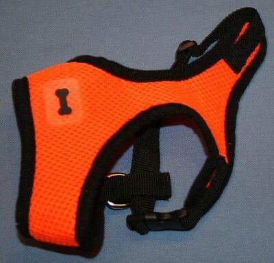 Arancione Brillante Taglia Xs Animale Domestico Imbracatura Cane Leggermente Disabilità Strutturali