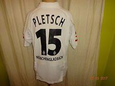 "Borussia Mönchengladbach lotto hogar camiseta 2003/04 ""Jever"" + nº 15 pletsch talla XL"
