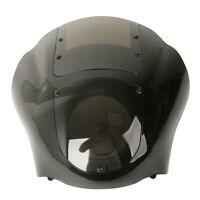 Black Quarter Fairing & Smoke Windshield For Harley Sportster 88-up Dyna 95-05