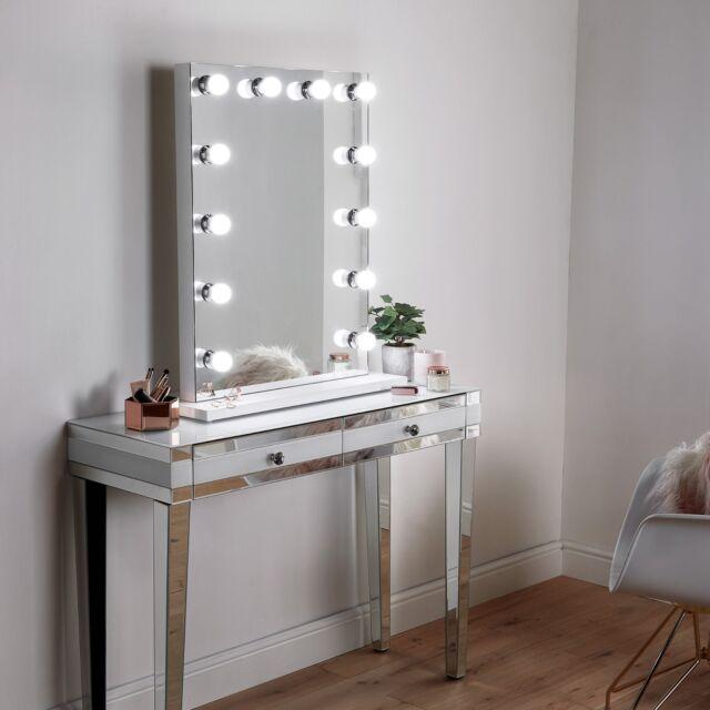 Beautify 4000066 Hollywood Vanity, Vanity Bulb Mirror