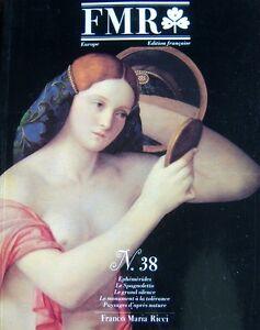 Franco-Maria-Ricci-Zeitschrift-Kunst-Fmr-Kein-38-von-1992-aus-Ribera-Bartolini