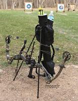 Lucky Duck Bow Butler Arrow Caddy Archery Accessory Bow Rest Stand