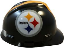 Pittsburgh Steelers Msa V Gard Cap Style Nfl Hard Hat