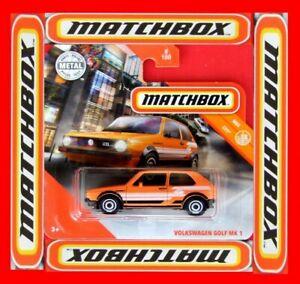 MATCHBOX-2019-VOLKSWAGEN-GOLF-MK-1-8-100-NEU-amp-OVP
