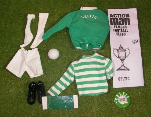Vintage Action Man 40th Sportsman Football Club Celtic loose échelle 1//6