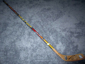 RYAN REAVES Vegas Golden Knights SIGNED Autographed Hockey Stick w/ COA