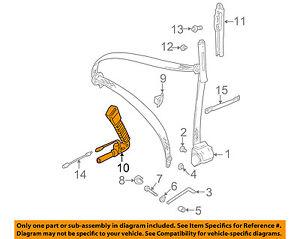 image is loading bmw-oem-01-06-325ci-front-seat-belt-