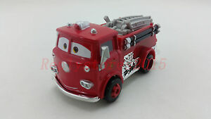 Mattel Disney Pixar Car Red Firetruck Diecast Toy Car 1:55 Loose New In Stock