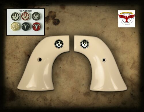 RUGER Pre-1963 XR3 BLACKHAWK and SINGLE SIX  ~ MAGNA-TUSK™ IVORY GRIPS