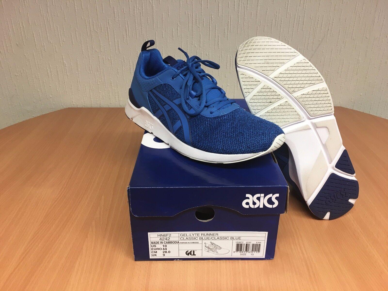 Asics GEL-Lyte Runner HN6F2 4242, Gr. 44, blau, Top mit Karton!