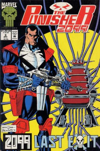 COMIC PUNISHER 2099 # 3 1993-9.4