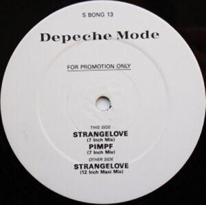Depeche-Mode-Strangelove-NEW-MINT-WHITE-LABEL-UK-PROMO-12-inch-vinyl-single