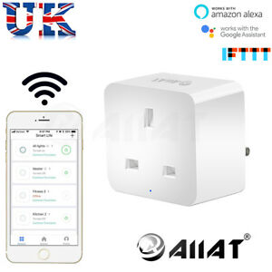 Aiiat-WIRELESS-WI-FI-SMART-presa-Spina-Timer-Interruttore-Amazon-Alexa-IFTTT