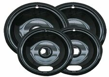 Drip Pans Reflector Bowl 4pc Set 6 and 8 Frigidaire Whirlpool Stove Range