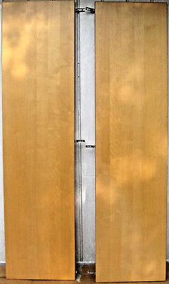 Ikea PAX Double Wardrobe Oak Effect