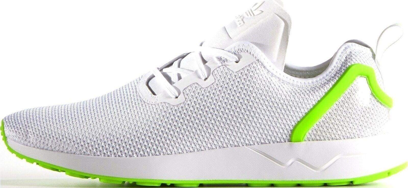 Adidas Originals ZX Flux Entrenadores ADV asimétrico Zapatos para Hombre Entrenadores Flux AQ3166-Blanco c593c6