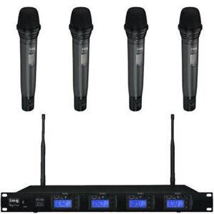 Sistema-De-Microfono-Inalambrico-cuadruple-con-4-X-microfonos-de-mano-amp-Receptor