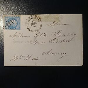 France-Napoleon-N-22-on-Letter-Cover-Gc-1118-Contaminates-on-Arve-Index-13