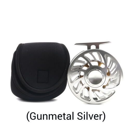5//7 7//9 9//10 10//12WT Fly Fishing Reels Best Grade Aluminum V-Spool Waterproof