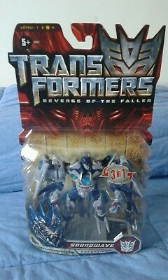 2019 Moda Transformers Revenge Of The Fallen Soundwave Deluxe Class Nuovo Sigillato