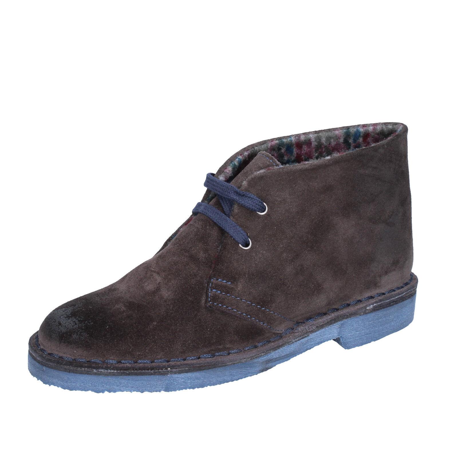 Damen schuhe KEPS BY CORAF 37 EU desert boots braun wildleder BX659-37