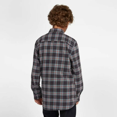 Hurley Kids/' Boys/' Youth Hurley Woven Plaid Flannel Button Up Shirt