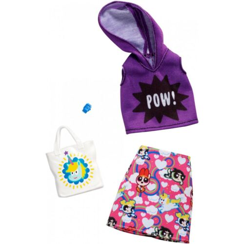 Barbie POWER PUFF GIRLS SKIRT SET Complete Look Fashion PACK