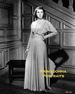 Image Is Loading Ingrid Bergman 8x10 Lab Photo B Amp W