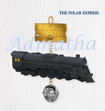 2010 Hallmark POLAR EXPRESS Train & Bell Ornament ROUND TRIP TICKET