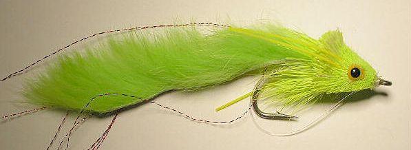 Dahlberg Rabbit Strip Diver Chartreuse 3/0 Saltwater