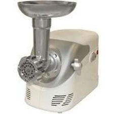 NEW WESTON 82-0103-W ELECTRIC #5 FOOD MEAT GRINDER & ATTACHMENTS 4189411