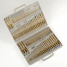 115pc Titanium Drill Bit Set w/ Index Case Number Letter Fractional