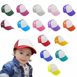 d71d908fea4edf DALIX Baby Girls Boys Toddler Cap Trucker Hat Caps Childrens Infant ...