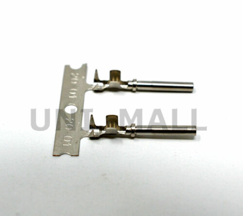 USA 2 x Deutsch DTM 2-Pin Black Connector Kit 20-22AWG Stamped Contacts