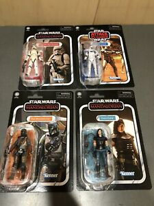 All 4 Star Wars Vintage Collection WAVE 3 SET The MANDALORIAN PRE-ORDER