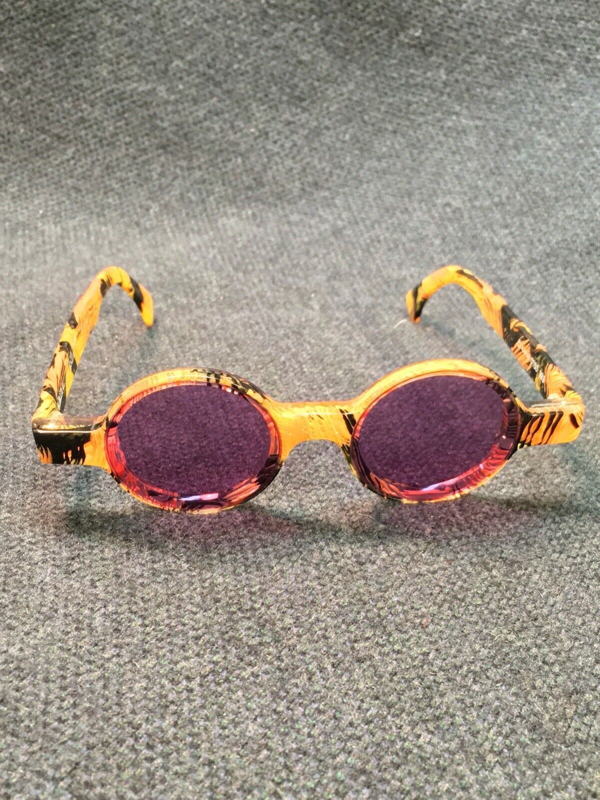 Vintage Alain MIKLI Sunglasses with Case - image 3